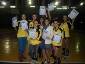 Срібні призери міста з волейболу 2013 рік